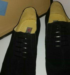 Туфли замша,коллекция Barcelo Biagi,новые,