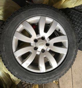 Зимние колёса R18 на Land Rover Discovery 3