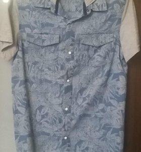 Новая рубашка с капюшеном
