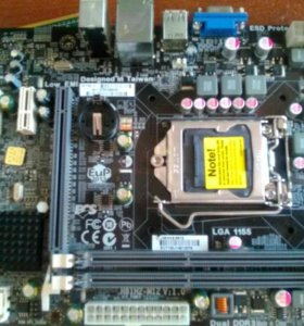 LGA1155 Материнская плата ECS H61H2-M12 (V1.0)