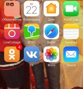 Сотовый телефон iPhone Apple