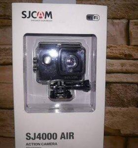 Экшн-камера Sjcam SJ4000 Air Wi-Fi 4K Новая