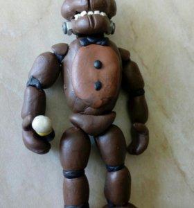 Игрушка из пластилина