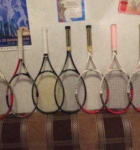 Продаю 7 теннисных профессиональных ракеток Wilson