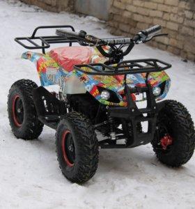Квадроцикл на аккумуляторе MOTAX Mini Grizlik BW