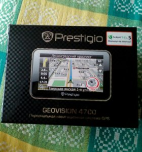 Навигатор Prestigio Geovision 4700