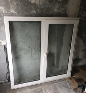 Окно ПВХ 135x135