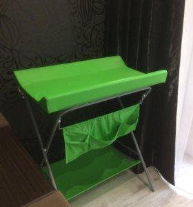 Складной пеленальный стол