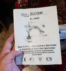 Мини-швейная машинка elcom EL-646C