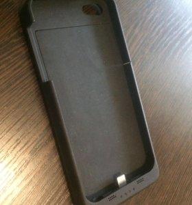 Чехол-зарядка на iPhone 5/5s