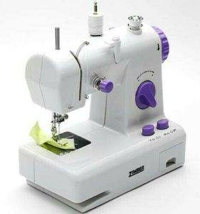 Швейная машина ZIMBER, 2 скорости, белый. Новая