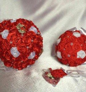 Букет и дублер букета невесты