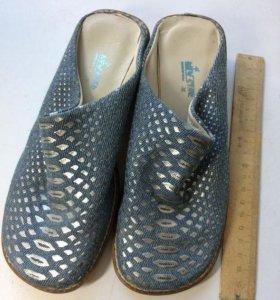 Новые туфельки без пятки (мюли)
