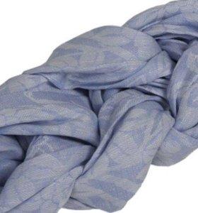 Слинг-шарф льняной «Чудо-чадо», оттенок «Прохлада»