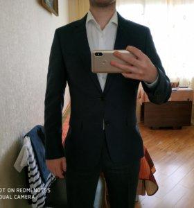 Мужской пиджак + рубашка Cacharel Original 44-46 S