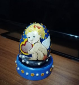 "Декоративное яйцо ""Ангелочек"""