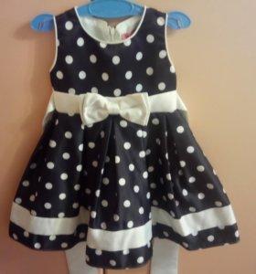 Платье на девочку полтора годика