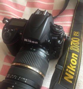 Легендарный Nikon D700