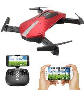 Квадрокоптер (дрон) E52 с Wi-Fi камерой (новый)