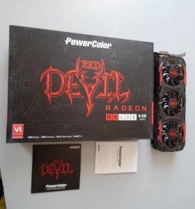 Игровая видеокарта AMD Radeon RX 480 Red Devil