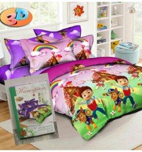 Новые комплекты детского постельного