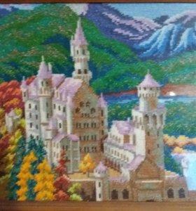 Картина вышивка крестом, Handmade
