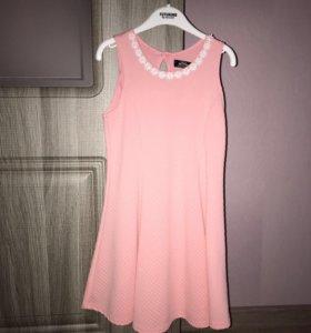 Летнее платье для девочки, рост 122