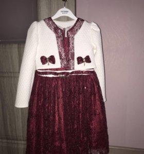 Платье для девочки, рост 134