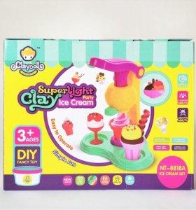"Claydoll super light clay ""Мороженое"""