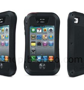Чехол защитный Love Mei for iPhone 4/4s