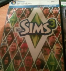 Продаю три игры sims3 megal of honor и call duty