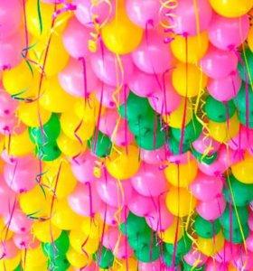 Воздушные и гелиевые шары, фольгированные шарики