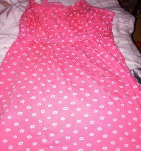 Ночная рубашка для беременных, кормящих