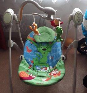 Электронная качеля для новорожденного