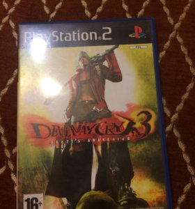 Devil may cry 3 Dante's awakening, PS 2, PAL.