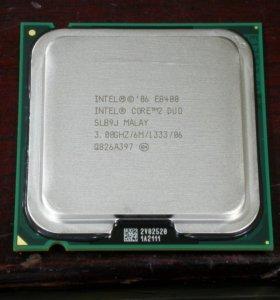 Процессор Intel Core 2 duo E8400 3.0Гц LGA775