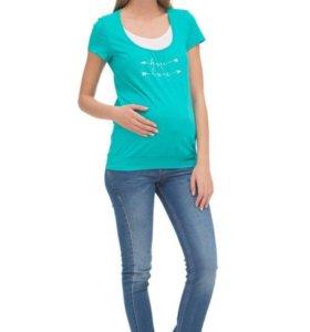 Продам футболку для беременных и кормящих (новая)