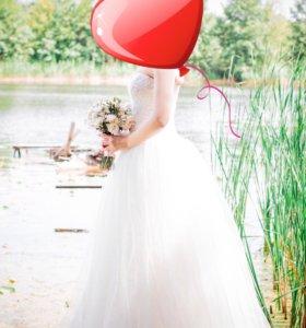 Свадебное платье+подарок