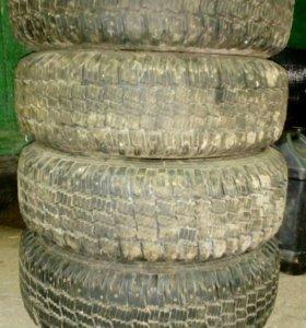 Комплект зимней резины на Волгу 2410, 31029 с диск