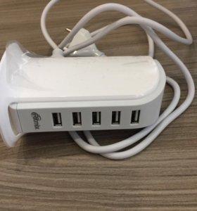 USB зарядное устройство Ritmix