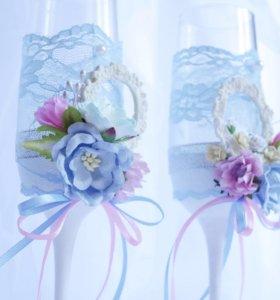 Свадебные аксессуары и украшения ручной работы