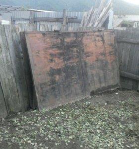 Ворота на гараж 2.5на1.5