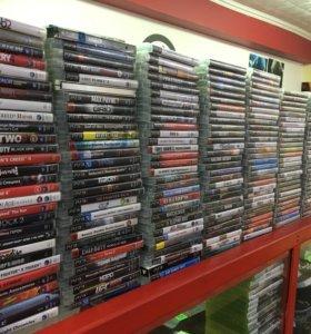Игры на PS3 много