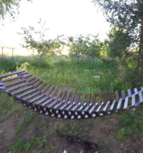Гамак деревянный реечный