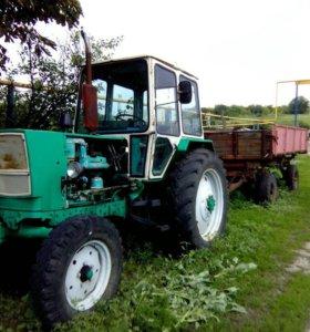 Продам трактор с прицепом