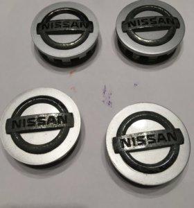 Заглушки колесного диска Ниссан Жук
