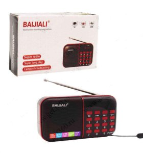 Радиоприемник FM (Ик.диспллей /USB/ MicroSD)