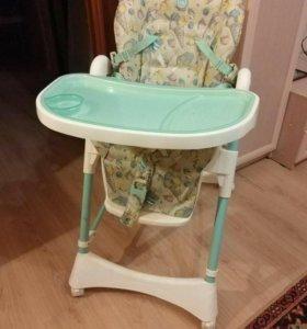 Детский стул для кормления happy baby