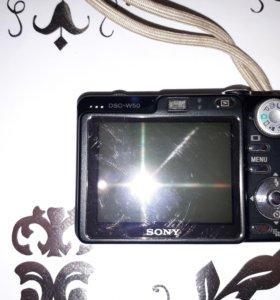 Компактный фотоаппарат Cyber-shot DSC-W50