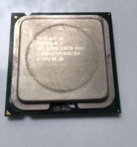 Процессор Intel Pentium D 915 и боксовый кулер